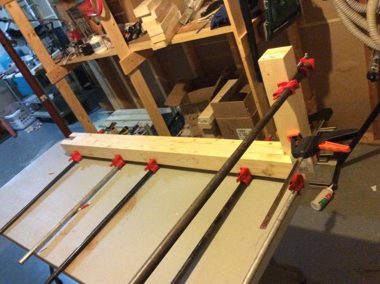 Bench build 1
