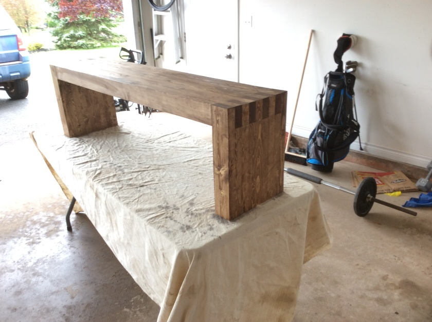 Bench build 4
