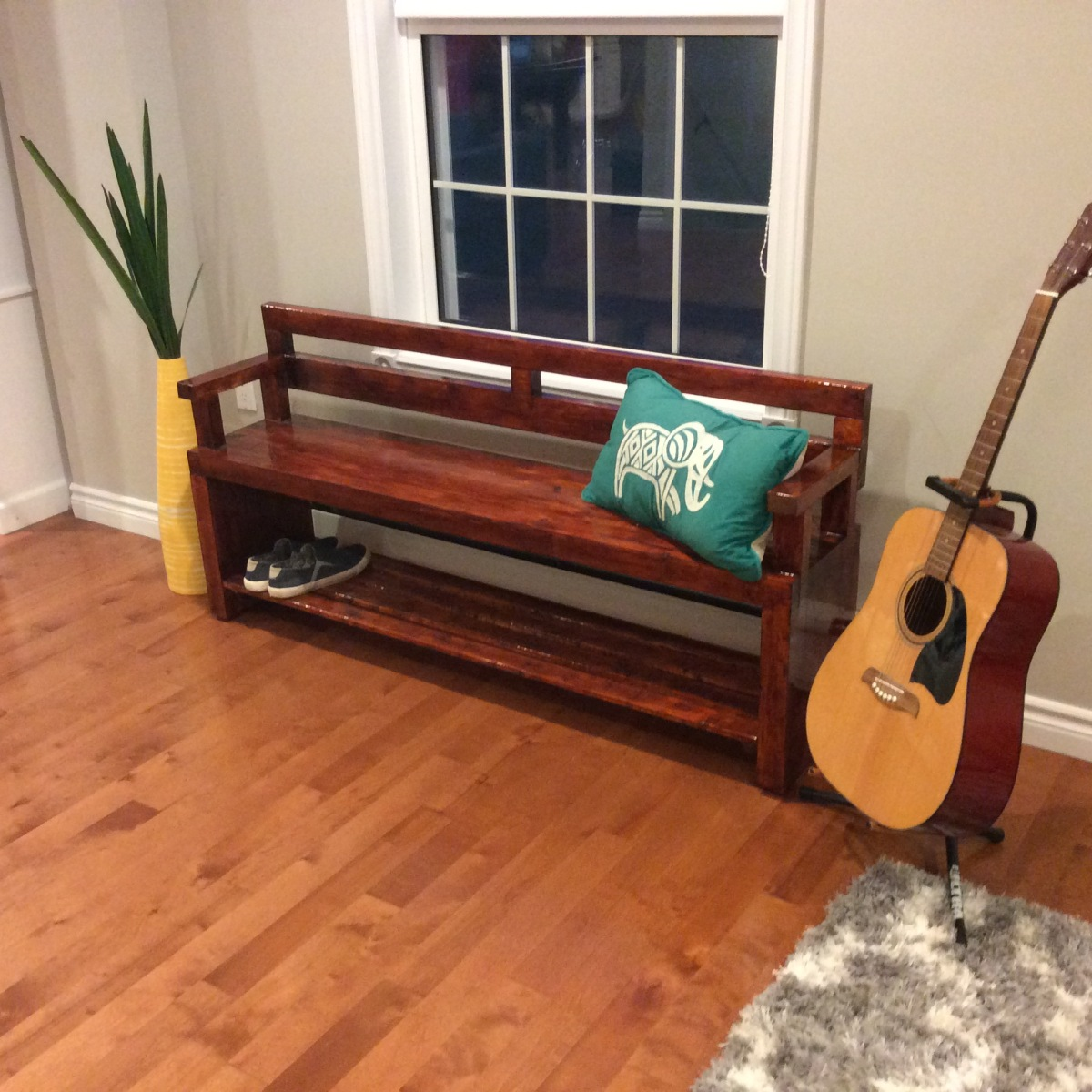 A bench oflessons