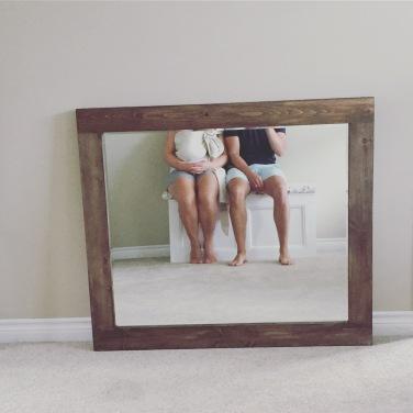 It's a mirror.