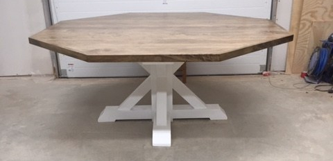 How to build An Octagon table