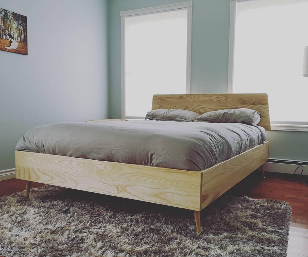 A Scandinavian bed